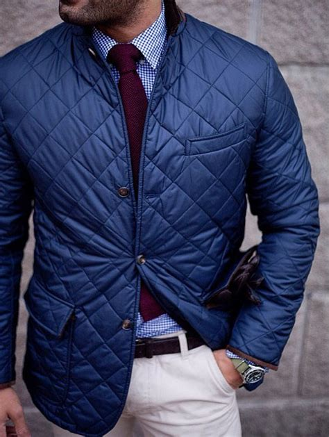 Quilting Fashion by Quilted Jacket Gentleman Soletopia