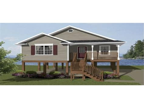 house plans on pilings beach house plans on pilings beach house plans narrow