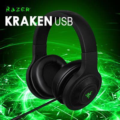 Headset Razer Kraken Usb aliexpress buy razer kraken usb essential surround sound gaming headset brand new in box