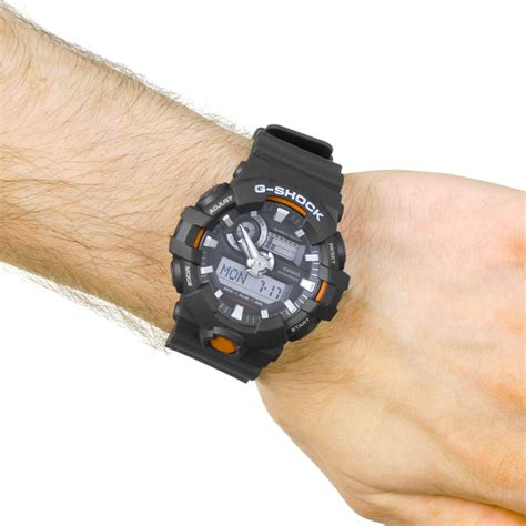 Casio G Shock Ga 700 casio g shock orologio da uomo nero ga 700 1aer it