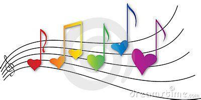 imagenes de corazones musicales corazones musicales imagen de archivo imagen 1511861