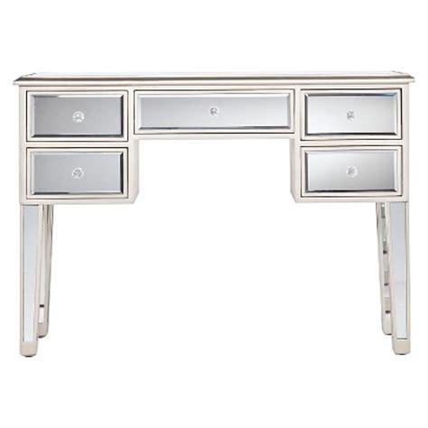 Mirrored Computer Desk Tobias Mirrored Desk Silver Target