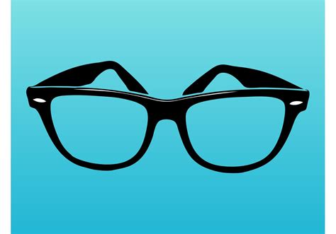 glass vector ray ban glasses download free vector art stock graphics