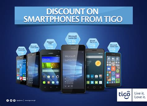 new year promotion smartphone tigo smartphone discount promotion microsoft care gh
