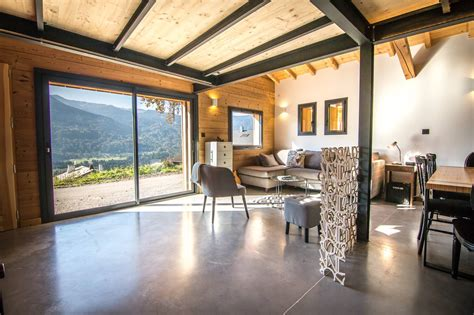 Chalet Bois Interieur by Decoration Interieur Chalet Moderne