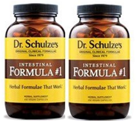 Dr Schulze Detox Program by 2 Dr Schulze Intestinal Formula 1 Colon