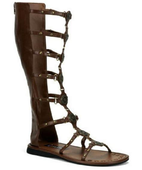 boots sandals sandals shoes brown costume shoes