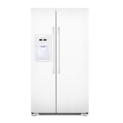 cabinet depth refrigerator lowes shop frigidaire 22 6 cu ft counter depth by