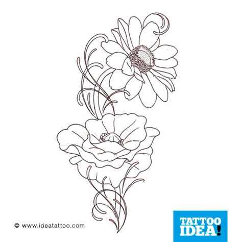 fiori tatoo fiori gallery disegni ideatattoo