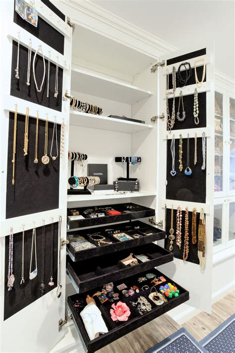 Nyc Closet by Innovative Jewelry Organizer Vogue New York Traditional