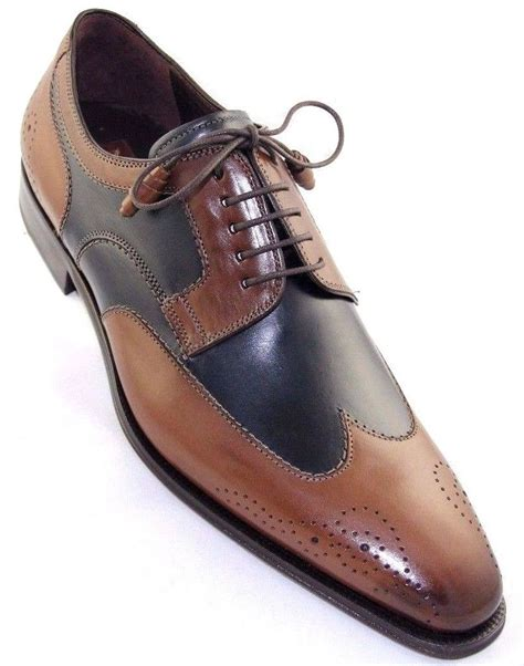 mezlan mens shoes mezlan lincoln s oxford wing tip navy leather