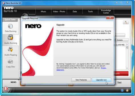 nero 10 dvd burner full version free download download nero burnlite 10 free review
