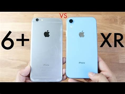 iphone xr vs iphone 6 plus should you upgrade speed comparison review