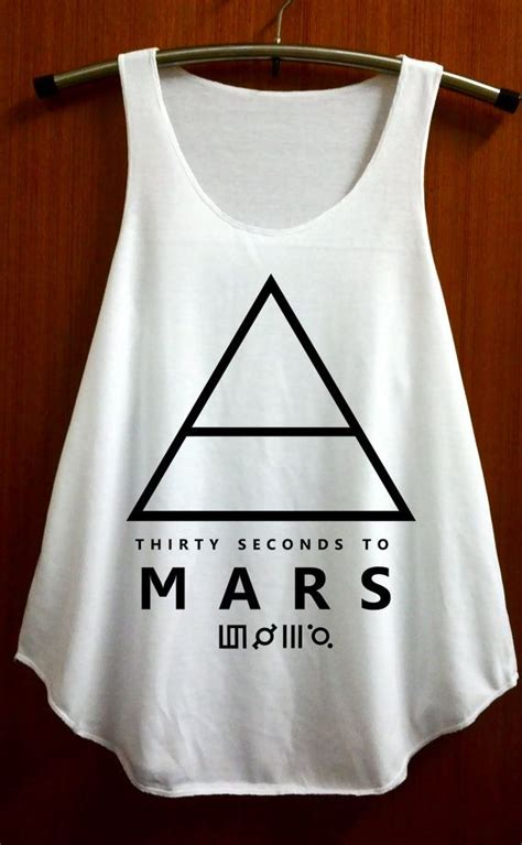 Tshirt 30second To Mars 30 second to mars tank top pop rock clothing top by