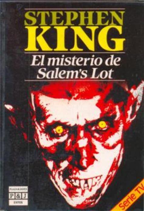 el misterio de salems 0609810863 el misterio de salem s lot leelibros com biblioteca de sedice