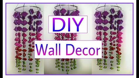 how to make decorations at home diy crafts how to make beautiful wall hanging diy