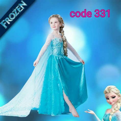 Baju Dress Frozen jual kostum frozen dress elsa frozen baju frozen elsa