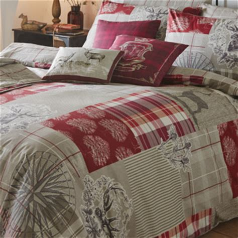 Patchwork Stag - tatton stag patchwork bedding duvet sets bedding