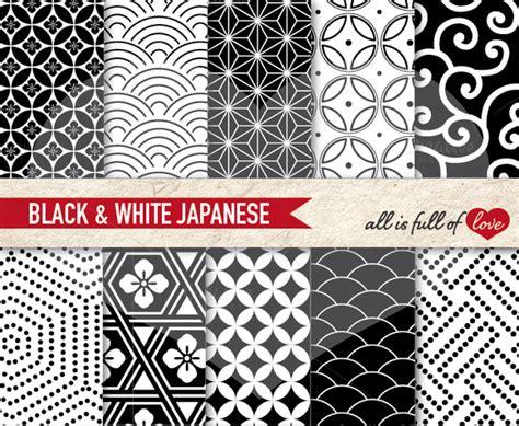 japanese pattern black and white japanese black white patterns patterns on creative market