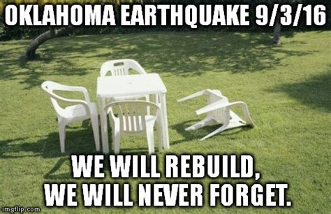Earthquake Meme - we will rebuild meme imgflip