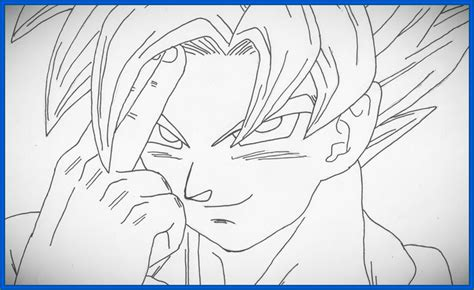 imagenes para dibujar de goku fotos para dibujar a goku archivos dibujos de dragon ball z