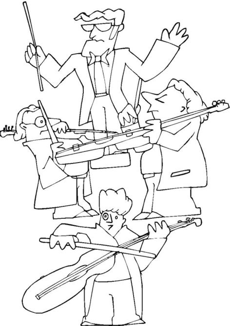 music band coloring pages free music coloring pages