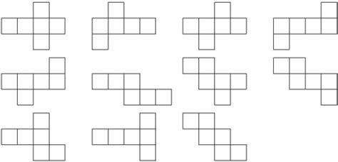 net pattern of cube fez how do i solve the puzzle with ten symbols each with