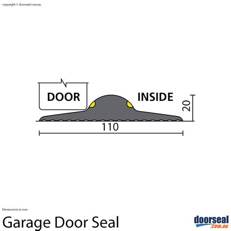 up and garage door seals garage door seal doorseal au