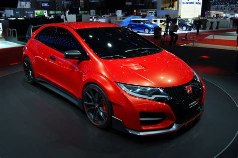honda civic type r 2015 revealed in geneva prices pics