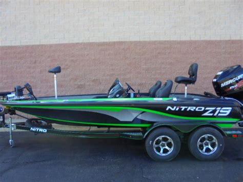 used nitro z20 bass boats for sale 2018 new nitro z 19 pro packz 19 pro pack bass boat for