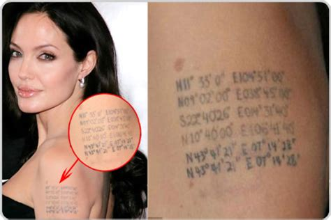tattoo angelina jolie coordinate lockie s humor and waffles hot women bad tattoos