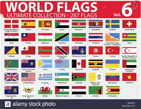 flags of the world ultimate world flags ultimate collection 287 flags volume 6