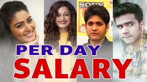 s day cast salaries per day salary of aadat se majboor cast