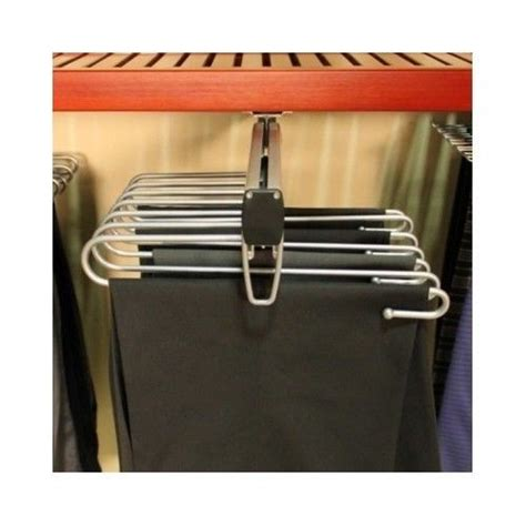Closet Pull Rack by Rack Closet Organizer Side Loading Pull Out Hanging