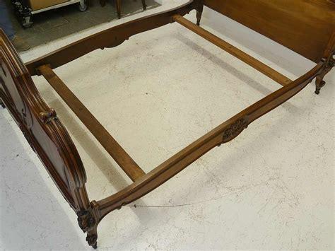 bett querstreben bett schlafzimmerbett antik um 1910 im rokoko stil
