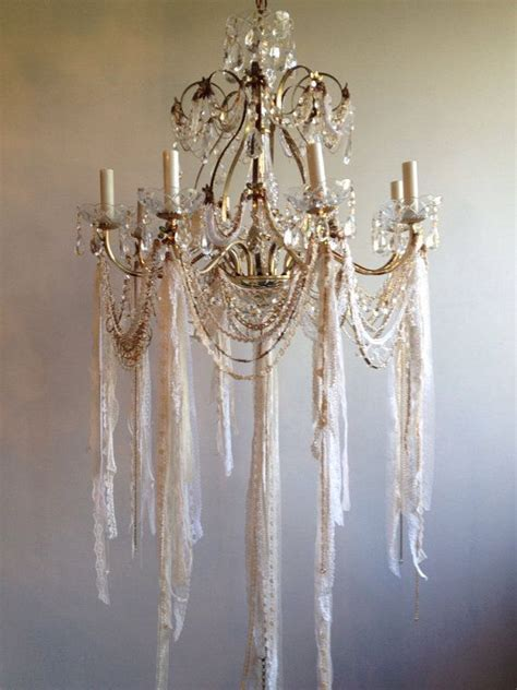 Shabby Chic Chandelier Best 25 Shabby Chic Chandelier Ideas On Shabby Chic With Roses Bedroom