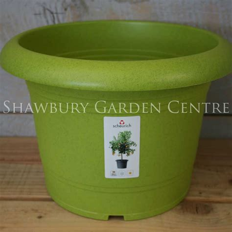 Living Green Planters by Scheurich Living Green Plastic Plant Pot 40cm Living Green