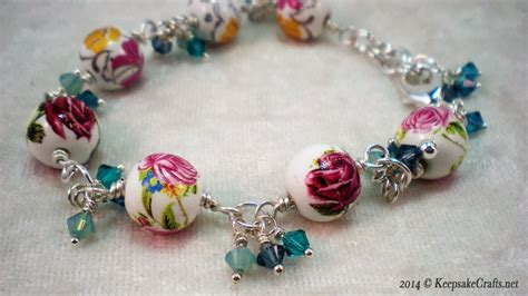 how to make swarovski jewelry how to make a bead and swarovski bracelet