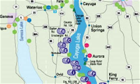 cayuga lake wine trail map maps and tools welcome to the finger lakes region and