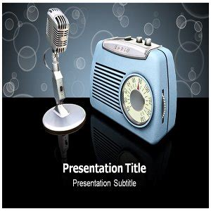 template powerpoint radio amazon com radio powerpoint templates radio powerpoint