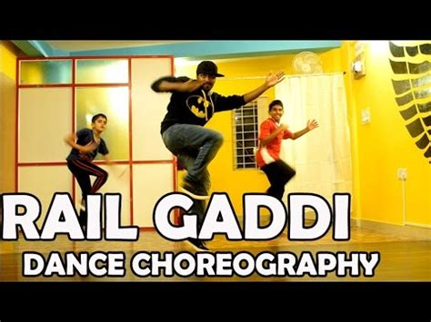 tutorial dance for you chair choreography rail gaddi dance video choreography gabrieal with