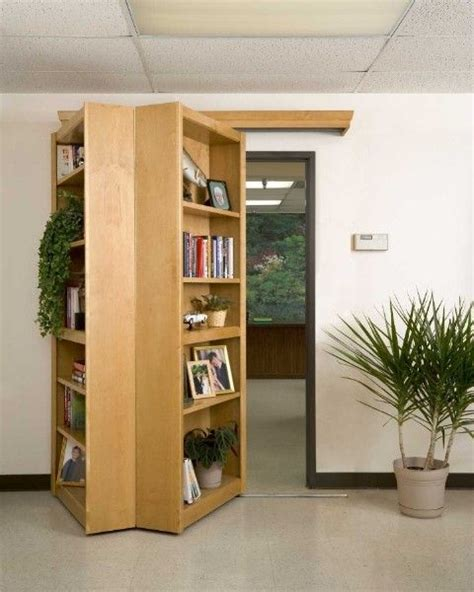 1000 ideas about bookcase door on door