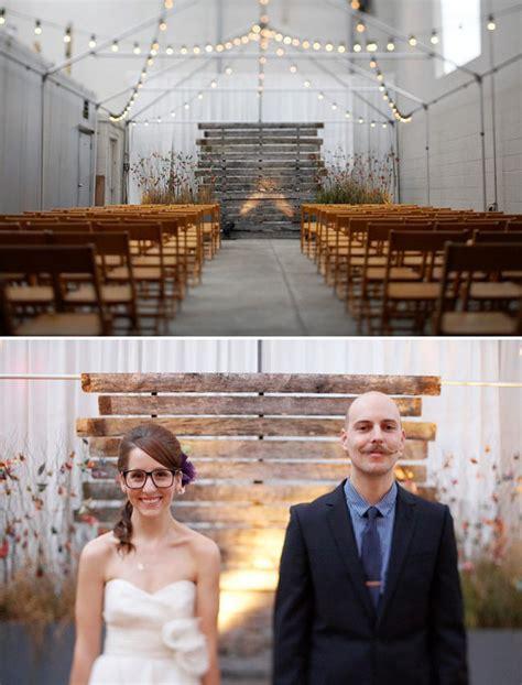 Wedding Backdrop Wood by My Favorite Wedding Diy Details Of 2011 Green Wedding