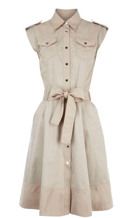 Syafira Dress millen soft safari dress neutral fashion