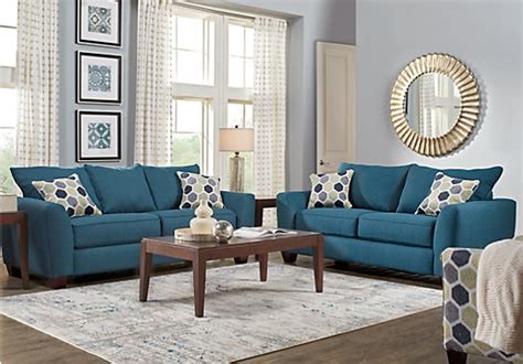 blue living room furniture bonita springs 5 pc blue living room living room sets blue