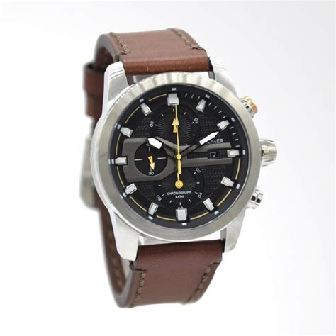 Jam Tangan Balmer Bl 7932 Silver Black Jam Chrono Original Jam jual balmer jam tangan pria leather coklat ring silver plat hitam b 7938m harga