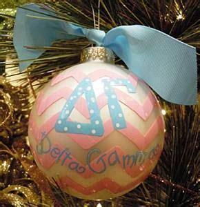 delta gamma christmas ornament and ornaments on pinterest