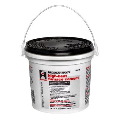 hercules 1 2 gal furnace stove cement 35515 the home depot