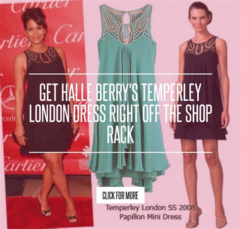 Get Halle Berrys Temperley Dress Right The Shop Rack by Get Halle Berry S Temperley Dress Right The