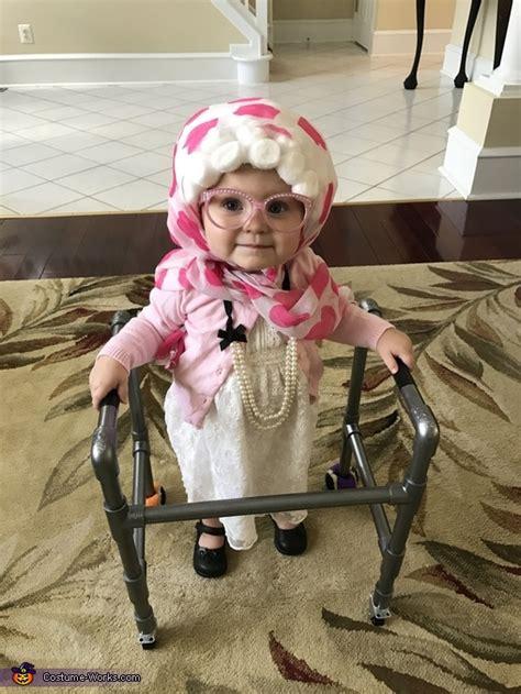 diy baby grandma halloween costume